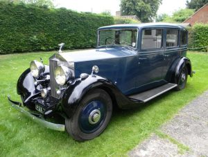 1938 Rolls-Royce 25-30 Limousine by Thrupp & Maberly