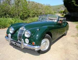 1955 Jaguar XK140 Drophead Coupé