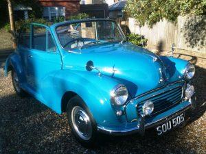 1957 Morris Minor 1000 Convertible