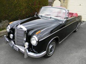 1958 Mercedes-Benz 220S Ponton Cabriolet