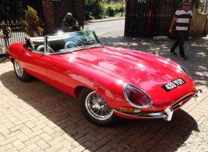 1961 Jaguar E Type Series I Roadster 'Flat floor'