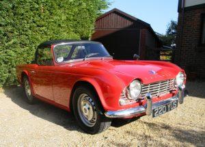 1962 Triumph TR4