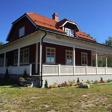 Renovering, skolan i Finnfara